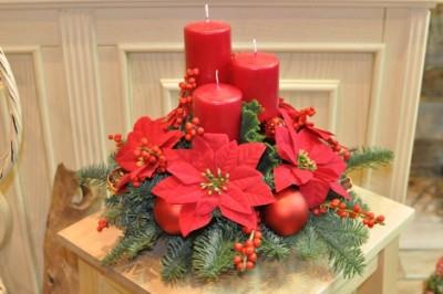 Aranjament de Crăciun Flacăra Sacră