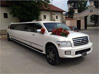 Închirierea limuzinei Infiniti QX56 -