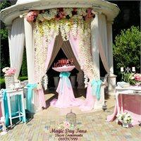 """Decorul nunții perfecte de la """"Magic Day"""""""