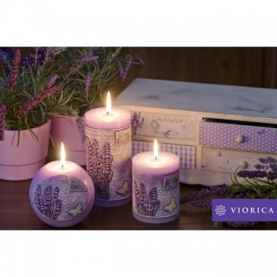 """Lumânări Lavender Provence de la """"Viorica Cosmetic"""""""