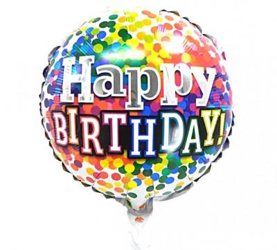 Гелиевые шары - подарок на день рождения