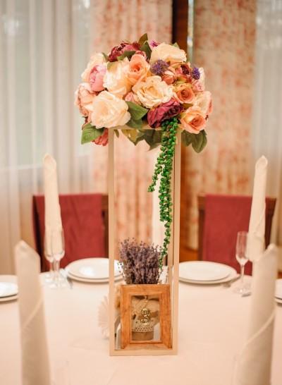"""Decorațiuni florale pentru nunta ta de la  """"Sweet Dreams Decor"""""""