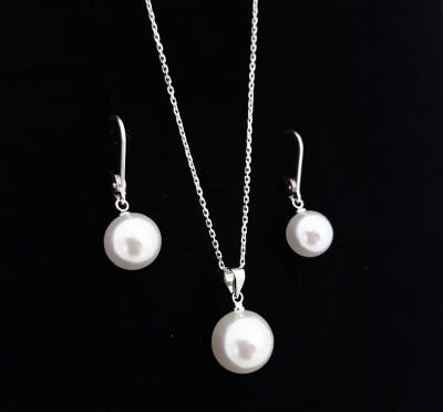 Bijuterii Kuki: Set Perle (ARGINT 925)