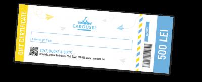 "GiftCard  de la ""Carousel"""