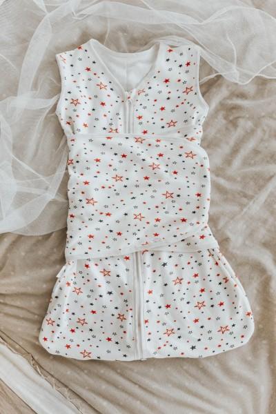 """Set  """"Calvis Baby"""" (sistem de înfășare a bebelușului de la 3-6 luni )"""