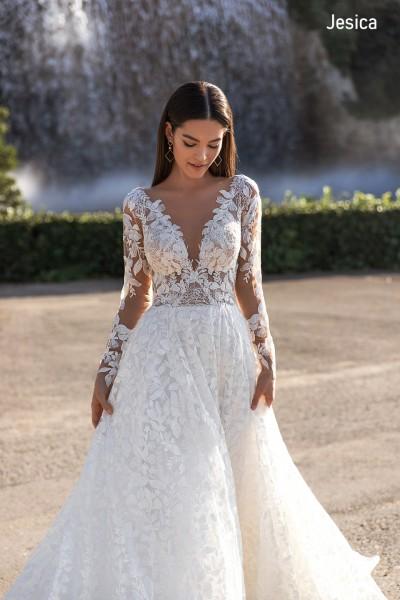"""Свадебное платье  Nilena в салоне """"Milena"""""""