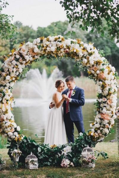 Декор избранной свадьбы от
