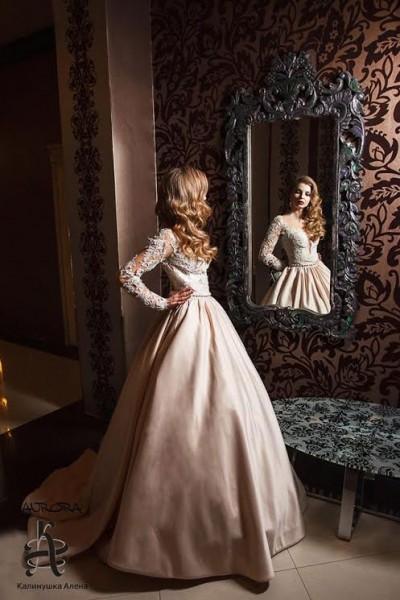 """Rochie de mireasă în salonul """"Kalinushka Alionushka"""""""