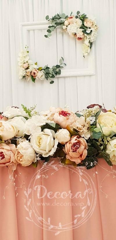 Украшение свадебного стола только от Decora.vip