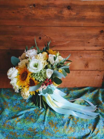 Buchet de mireasă de la Dana's Flowers