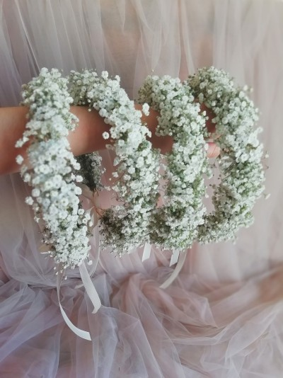 Coroniță de mireasă de la Dana's Flowers