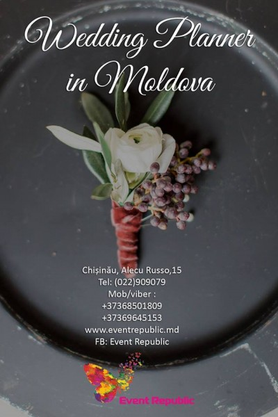 Wedding and event planner in Moldova.