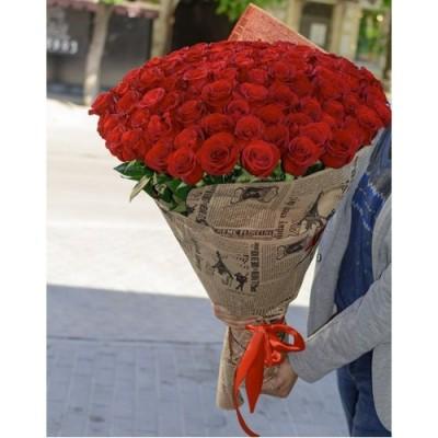 101 Trandafiri Roșii