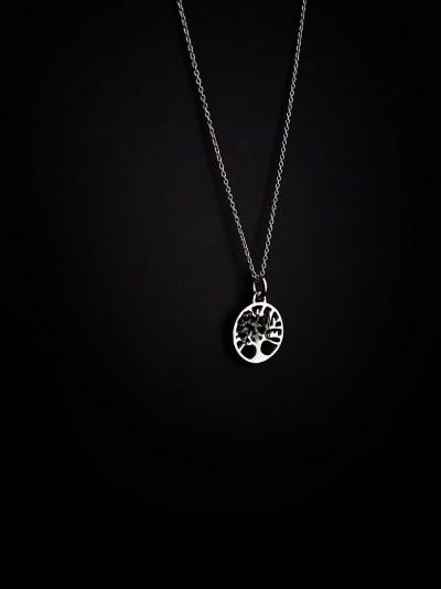 Куки ювелирные изделия (ожерелье 925 серебряное дерево жизни)