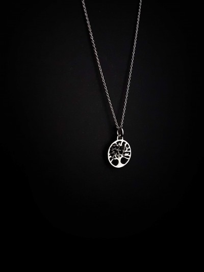 Bijuterii Kuki: (colier copacul vieții  argint 925)