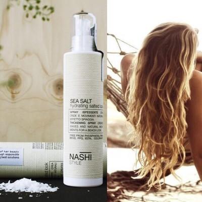 Produse Cosmetice: Nashi Argan (Spray pentru bucle cu sare de mare Style Sea Salt Nashi)