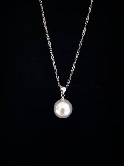 Bijuterii Kuki: (colier perla ivory)