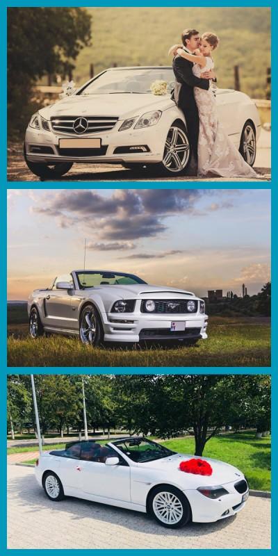 Cabriolete: Mercedes, Mustang, BMW de la
